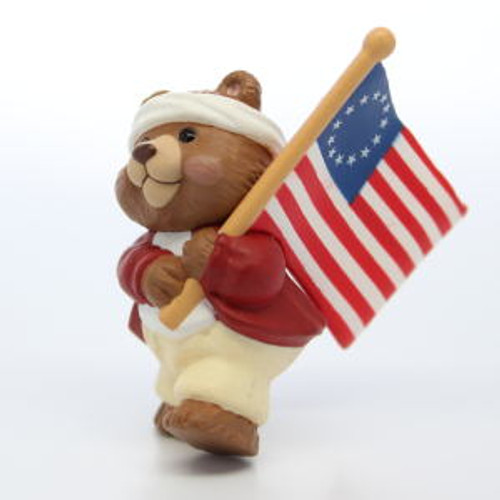 1994 Bear With Flag
