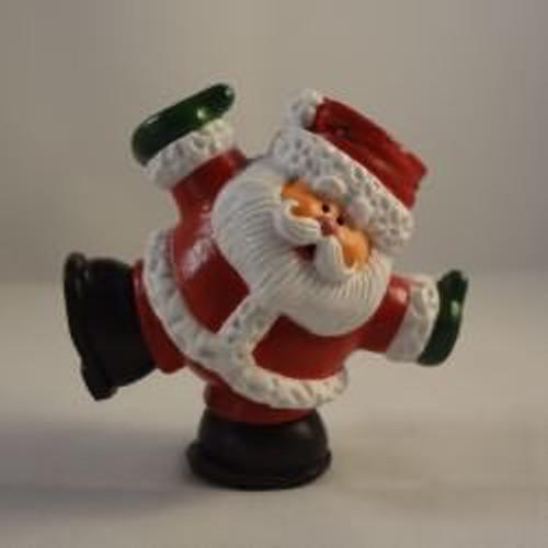 1985 Tumbling Santa - Rubber