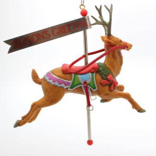 1987 Carousel Reindeer