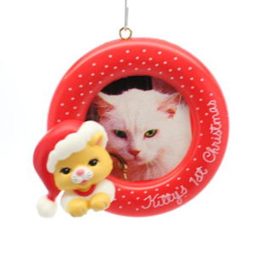 1987 Kitty'S 1St Christmas - Photo