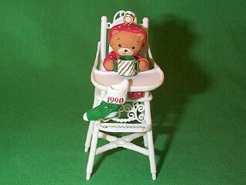 1990 Baby Bear Christmas - #1