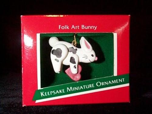1989 Folk Art Bunny