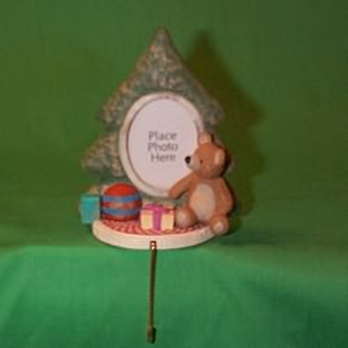 1987 Tree Photoholder - Stocking Hanger