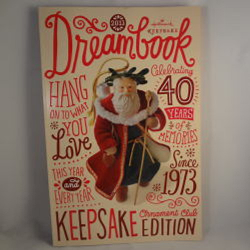 Hallmark Club Ornament Pre-Flight Check 2013 Santa Claus Checks List Eats Cookie