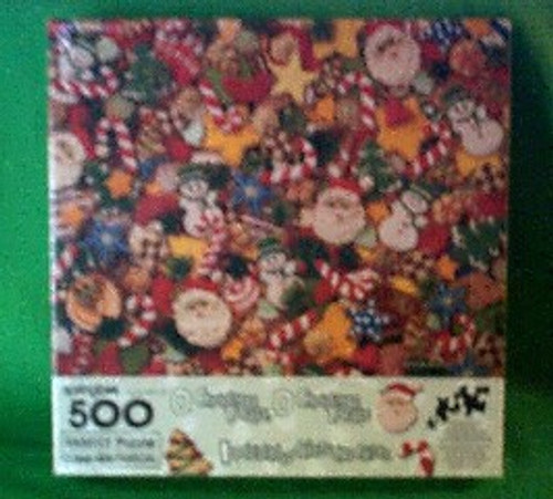O Christmas Treats - 500 Pieces - Puzzle