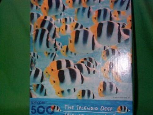 The Splendid Deep - 500 Pieces - Puzzle