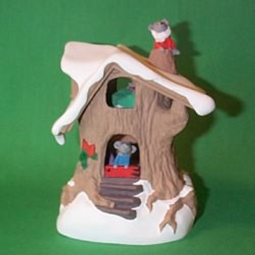 1987 Night Before Christmas - Mouse House