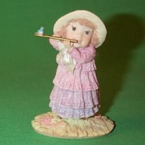 1989 Girl Playing Flute