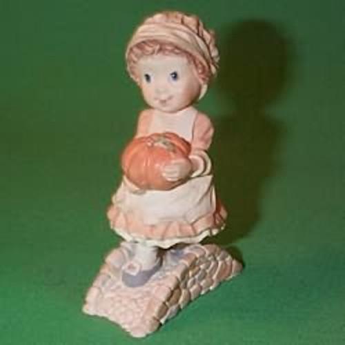 1989 Girl With Pumpkin