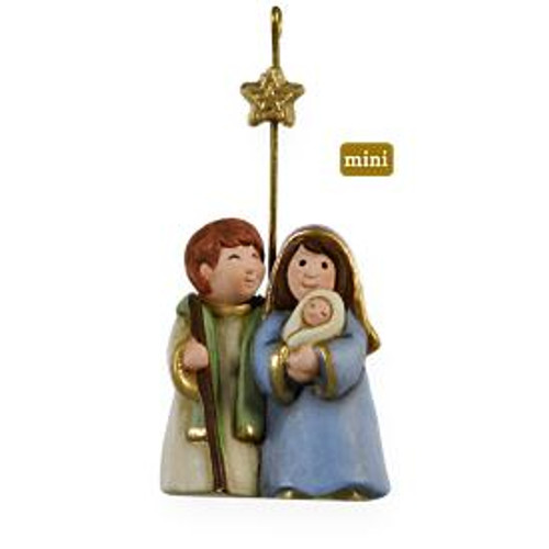 2009 Hallmark Holy Family Ornament