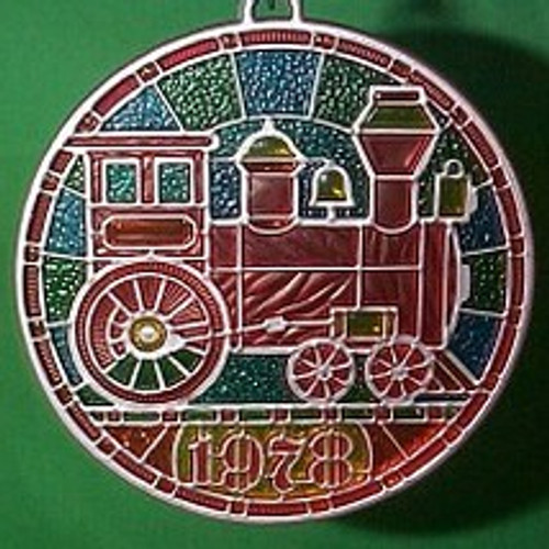 1978 Locomotive - Colors of Christmas