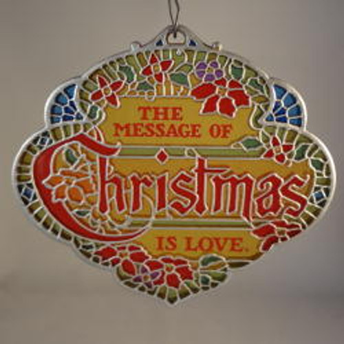 1979 The Message of Christmas is Love