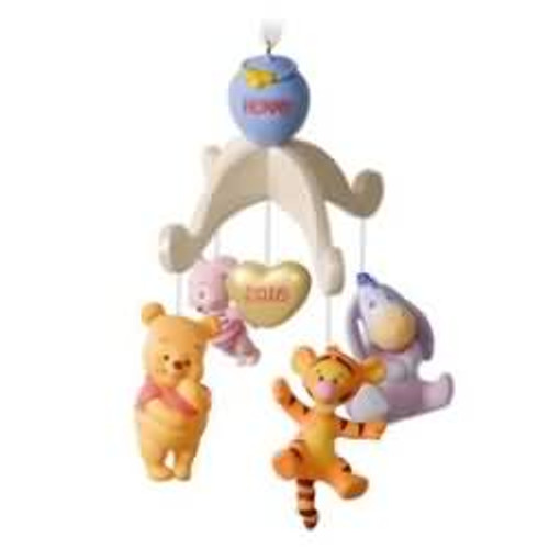 2016 Babys First Christmas - Winnie the Pooh