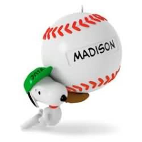 2016 Baseball - Slugger Snoopy