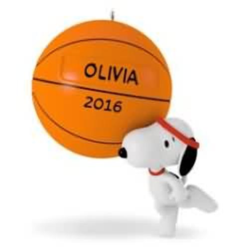 2016 Basketball - Slam Dunk Snoopy