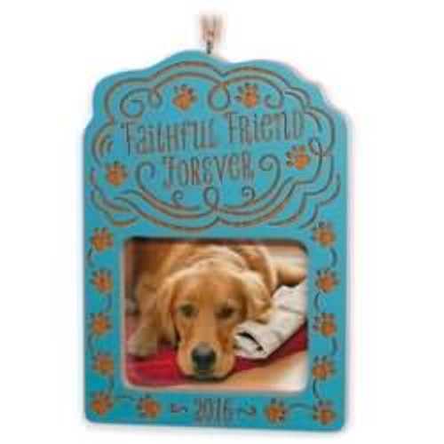 2016 Faithful Friend Forever - Pet Photo