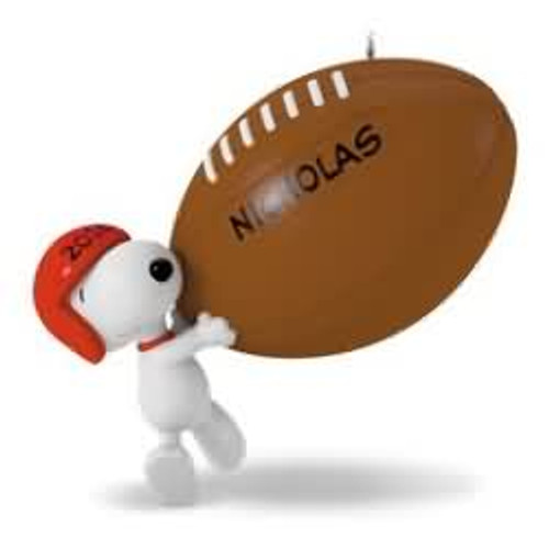 2016 Football -Touchdown Snoopy