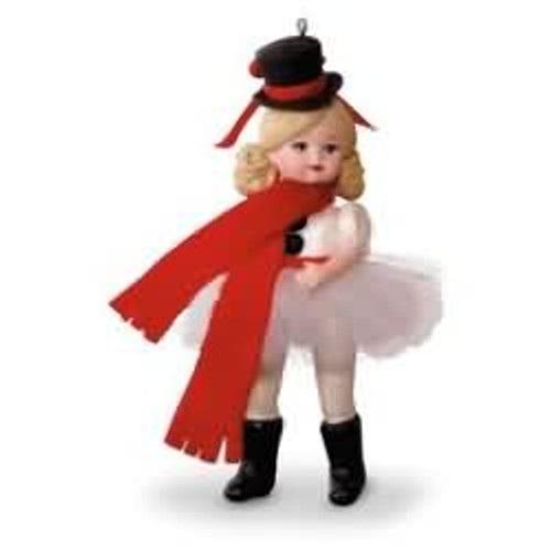 2016 Madame Alexander #21 - Snowman Ballerina