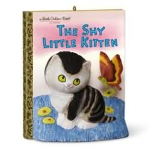 2016 The Shy Little Kitten - Little Golden Books