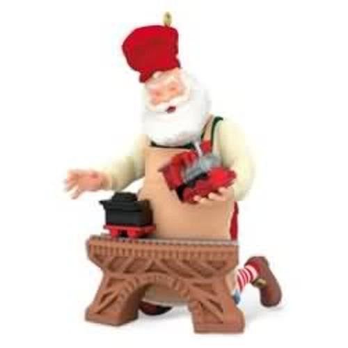 2016 Toymaker Santa #17 - Train set