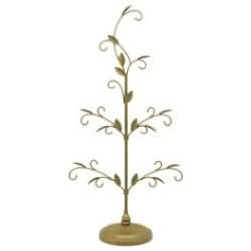 2016 Gold Miniature Keepsake Ornament Tree