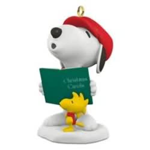 2016 Winter Fun with Snoopy #19 - Caroling