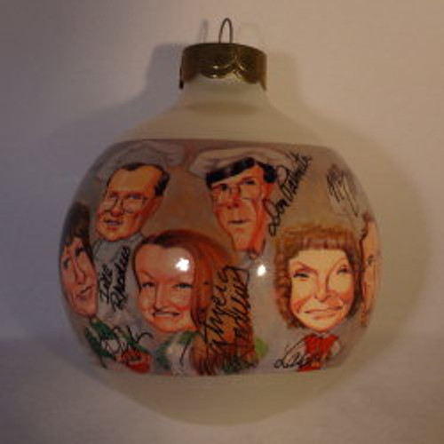 1995 Bulb Caricature-Signed