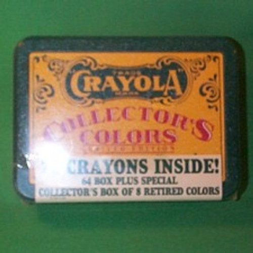 1994 Crayola Crayons And Tin