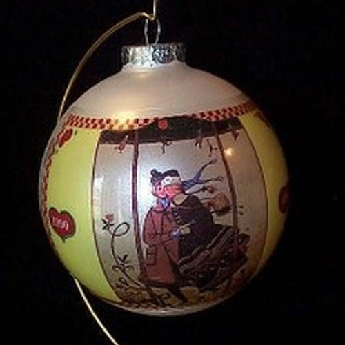 1990 Sweet Love Skaters-Schmid Ornament