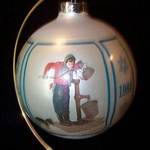 1984 Chilling Chore 6th-Schmid Ornament
