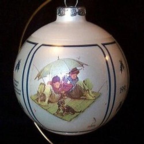 1991 Fishermans Paradise 13th-Schmid Ornament