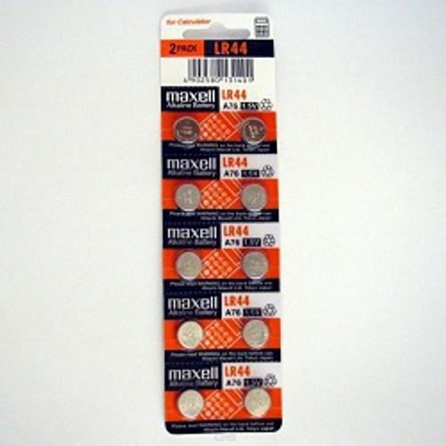 LR44 Batteries 10 Pack