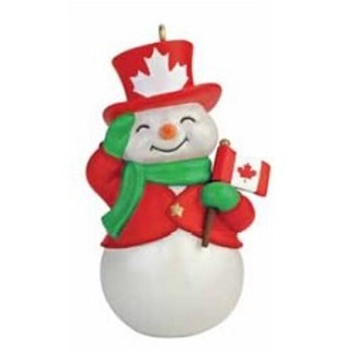 2016 Canadian Patriotic Snowman