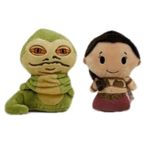 2016 Star Wars - Princess Leia & Jabba The Hutt Itty Bittys