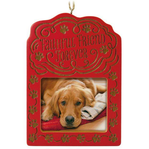 2017 Faithful Friend Forever Pet Bereavement Photo Holder  (QHX1042)