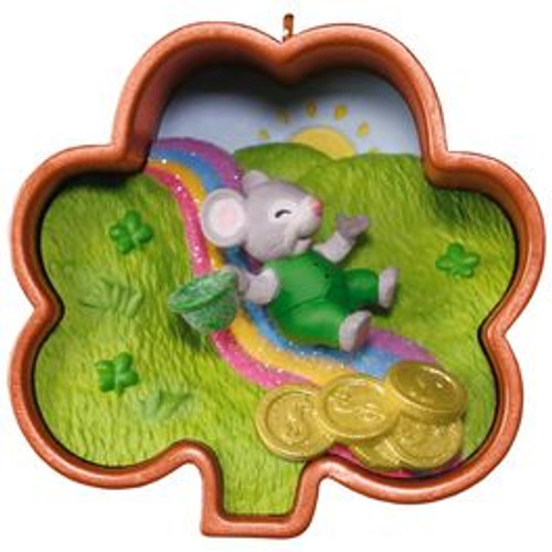 2017 Cookie Cutter Mouse Leprechaun  (QHA9115)