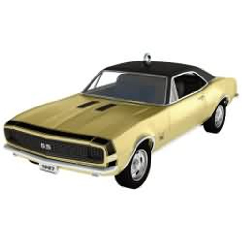 2017 1967 Chevrolet Camaro RS/SS - 50th Anniversary Hallmark ornament - QXI3205