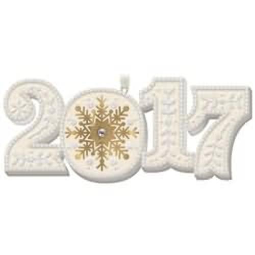 2017 2017 Hallmark ornament - QGO1872