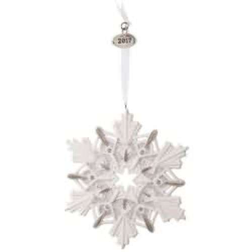 2017 2017 Snowflake Hallmark ornament - QGO1732