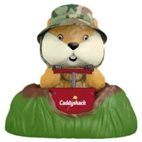 2017 A Dynamite Gopher - Caddyshack Hallmark ornament - QXI3072