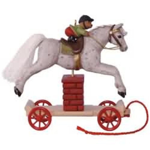 2017 A Pony for Christmas #20 Hallmark ornament - QX9315