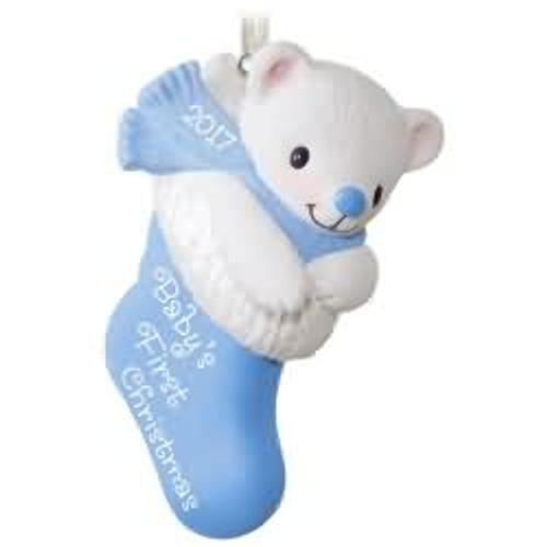 2017 Baby Boy's 1st Christmas Hallmark ornament - QGO1252