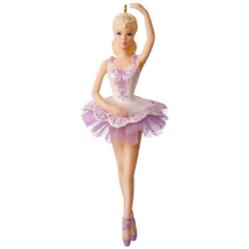 2017 Barbie - Ballet Wishes Barbie Hallmark ornament - QXI3275
