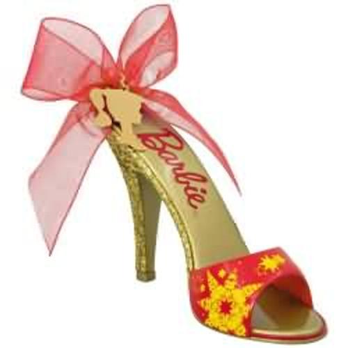 2017 Barbie - Shoe-sational Barbie Hallmark ornament - QXI3452