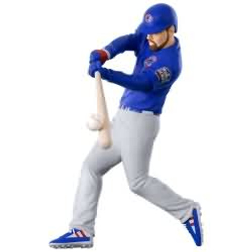 2017 Baseball - Ben Zobrist - Chicago Cubs Hallmark ornament - QXI1542