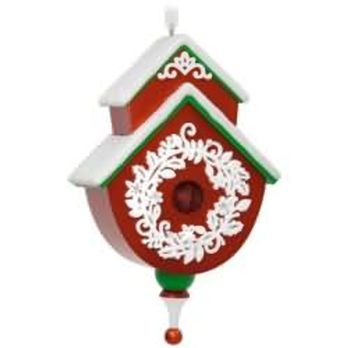 2017 Beautiful Birdhouse #2 Hallmark ornament - QX9365