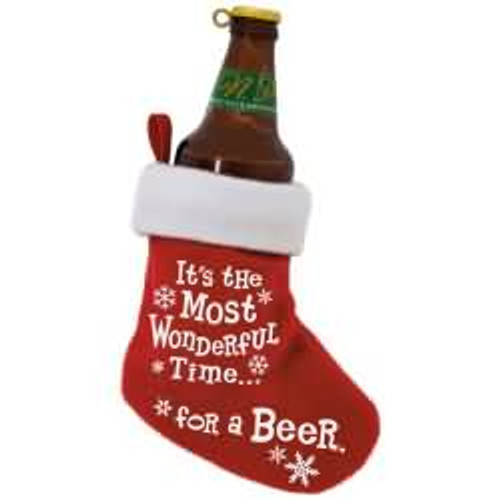 2017 Beer Time Hallmark ornament - QGO1812