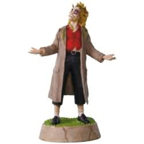 2017 Beetlejuice - You Think I'm Qualified? Hallmark ornament - QXI3084