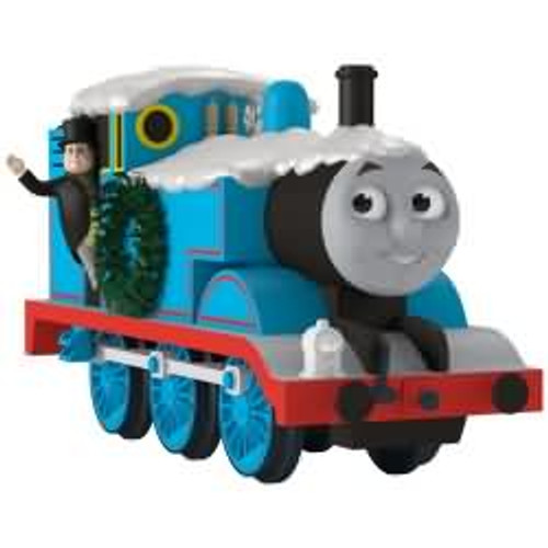 2017 Christmas Time with Thomas - Thomas the Train Hallmark ornament - QXI3265
