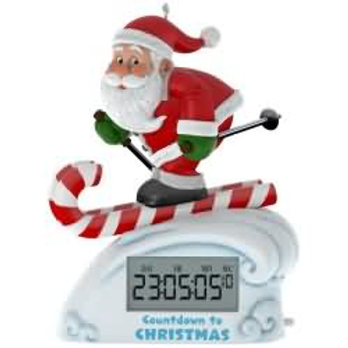 2017 Countdown to Christmas Hallmark ornament - QGO1425